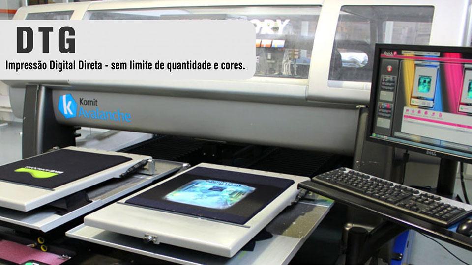 Como funciona a Impressão Digital Directa em Têxtil ou DTG